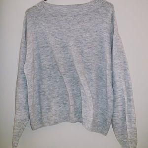 Mock oversize Sweater